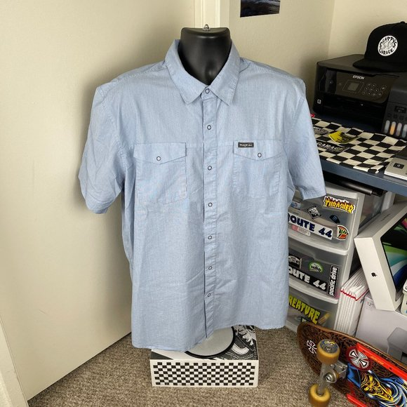 Wrangler Shirt Blue